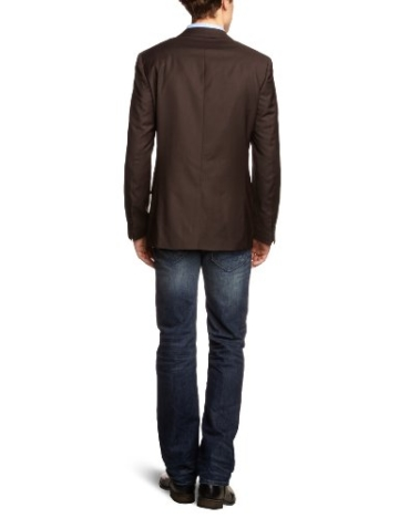 ESPRIT Collection N3425B Herren Anzugs Sakko, Gr. 90, Braun (dark brown 202) -