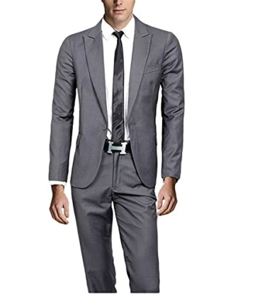 Slim Fit 1 knopf Verschluss Business Herrenanzug -