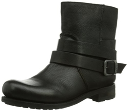 Blackstone IL95 BLACK SHEEPSKIN, Damen Biker Boots, Schwarz (black), 38 EU (4.5 Damen UK) -
