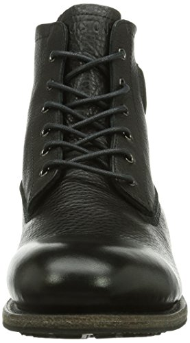 Blackstone MID LACE UP BOOT FUR BLACK, Herren Chukka Boots, Schwarz (black), 42 EU (8 Herren UK) -