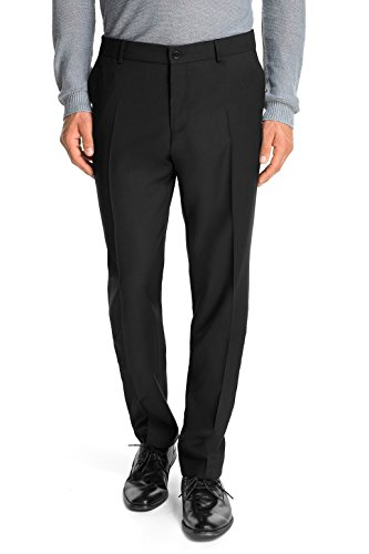 ESPRIT Collection Herren Anzughose Regular Fit, Schwarz, 54 (XXL) -