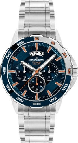 Jacques Lemans Sports Herrenarmbanduhr Sydney 1-1589G -