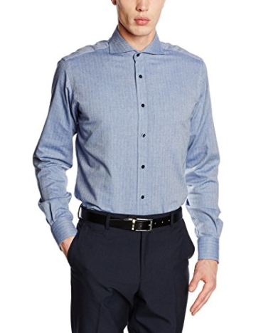 Karl Lagerfeld Herren Business Hemd Shirt Slim -