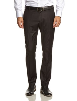 SELECTED HOMME Herren Hose 16033313 One Logan Trouser, Gr. 50 (M), Schwarz (Black) -