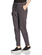 United Colors of Benetton Damen, Relaxed, Jogginganzug, Sequin Track Pant, GR. 38 (Herstellergröße:Large), Grau (Grey) -