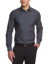 Venti Herren Businesshemd  001470/75, Gr. 44, Grau (75 anthra) -