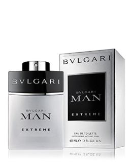 BULGARI Man Extreme EDT Vapo 60 ml, 1er Pack (1 x 60 ml) -