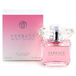 Versace Bright Crystal, Eau de Toilette, Vaporisateur / Spray 90 ml -