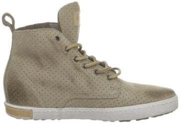Blackstone PERFORATED HIGH FL62, Damen Sneaker, Beige (Taupe), EU 41 -