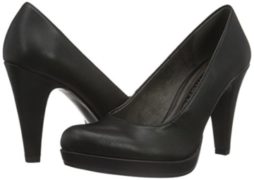 Tamaris Damen 22466 Pumps, Schwarz (Black Matt 020), 38 EU -