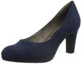 Tamaris Damen 22420 Pumps, Blau (Jeans 832), 38 EU -